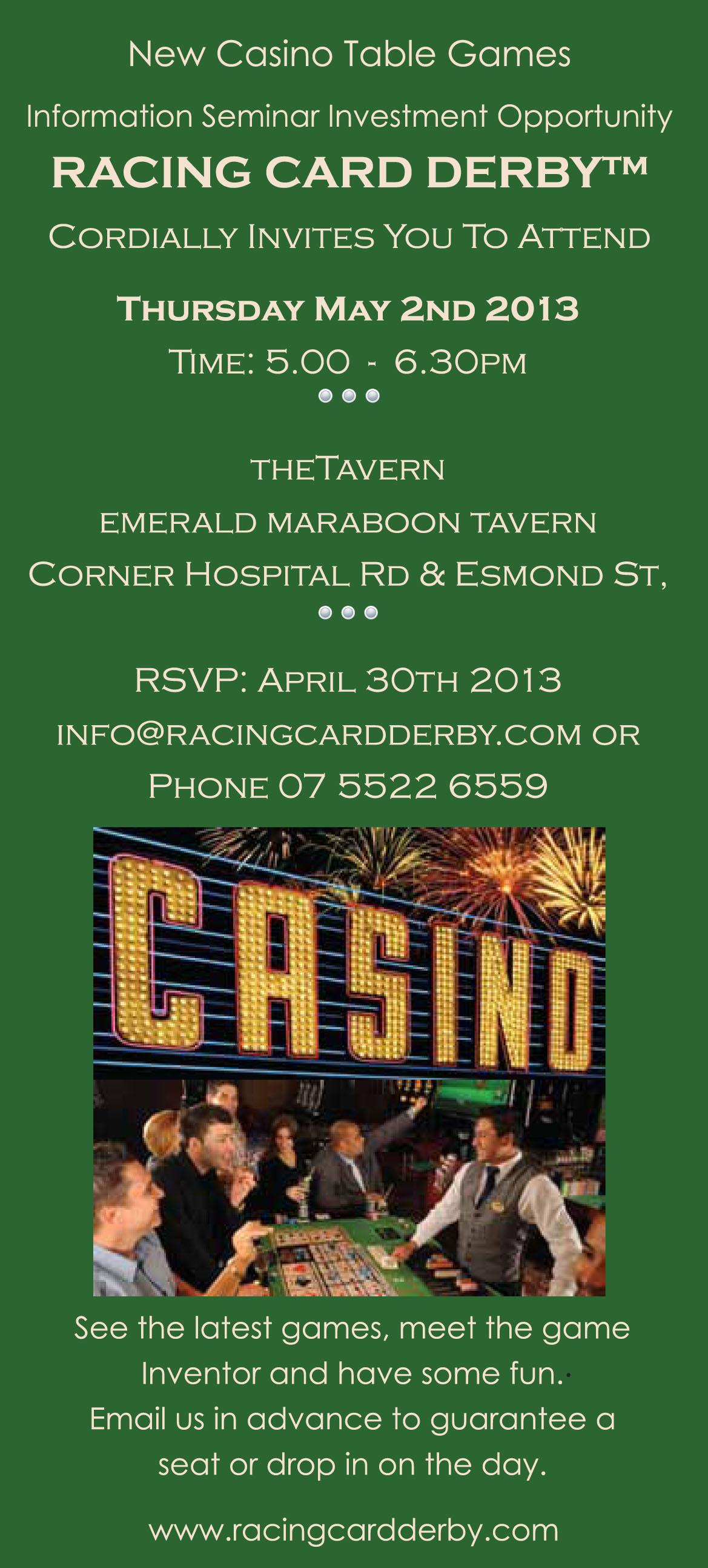 RCD Invitation Emerald